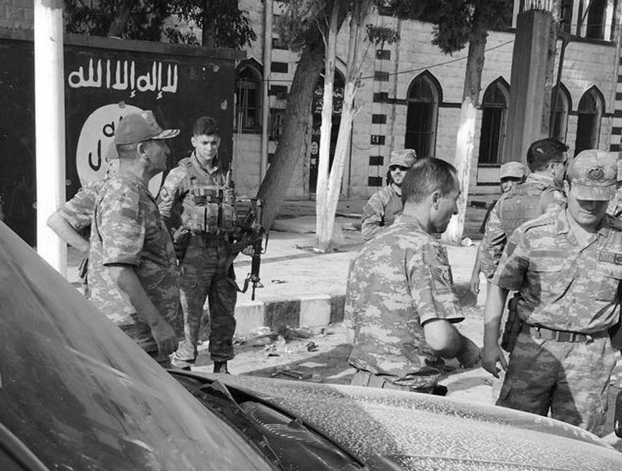 2. Ordu Komutanı Korgeneral İsmail Metin Temel Cerablusta